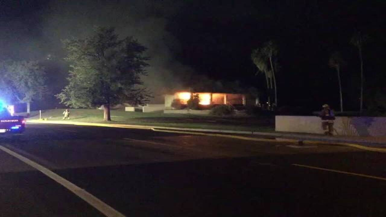 FD: Ahwatukee golf course fire was intentional