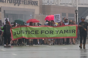 Tamir Rice family holds rally and march, reacts to Chauvin sentencing