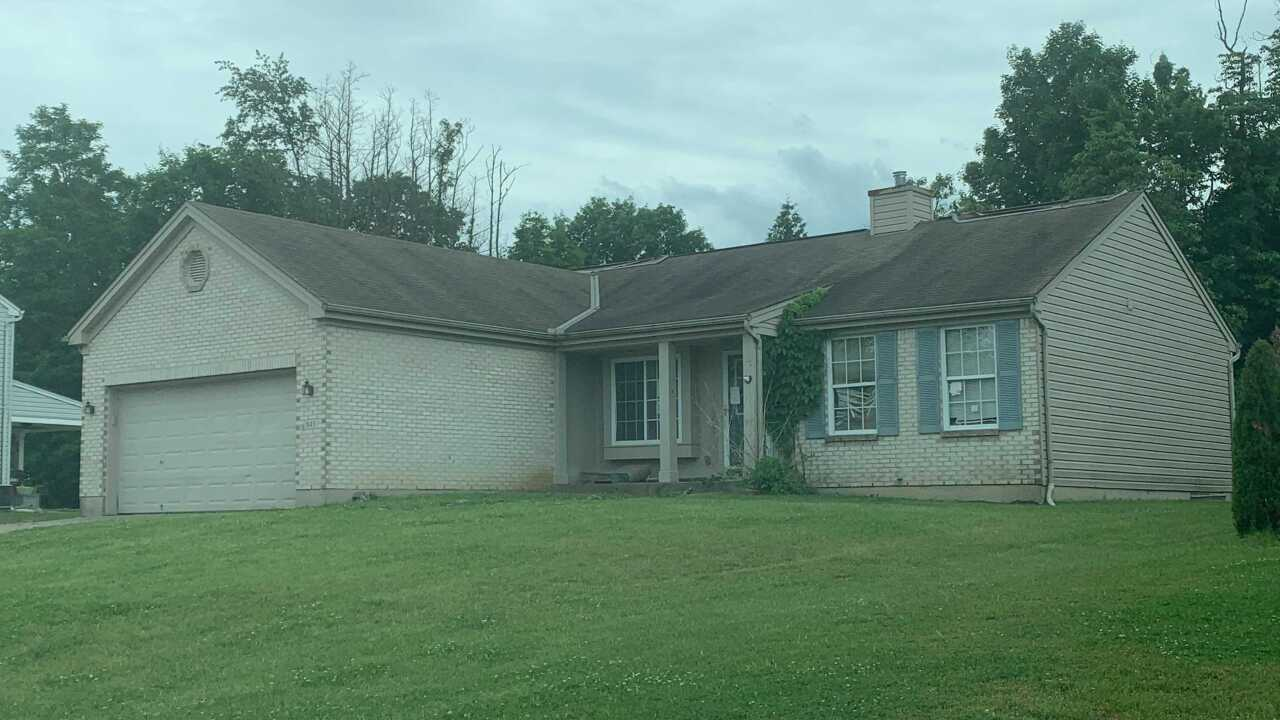 A beige, single-story, vacant dwelling in Independence, Kentucky, was the site of a police shooting, June 1, 2021.