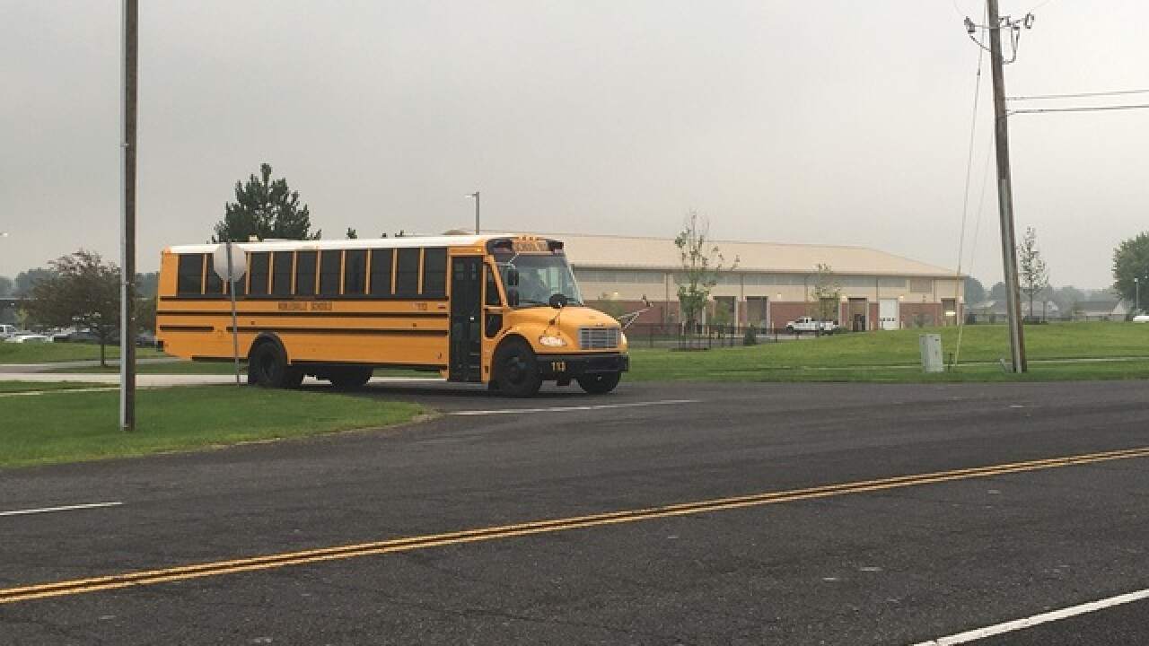 Students, staff return to Noblesville West