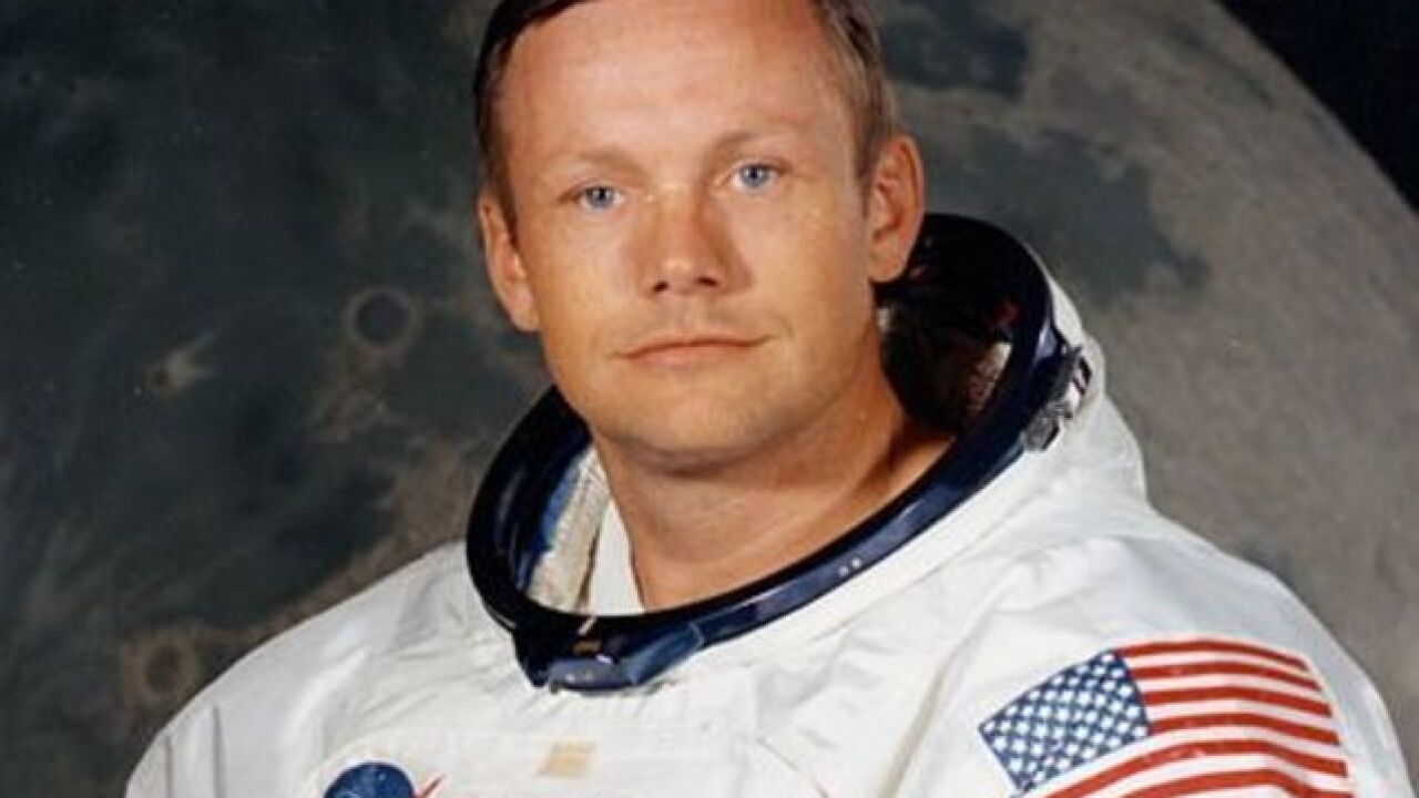 Neil Armstrong's personal collection of moon-flight mementos will go on auction