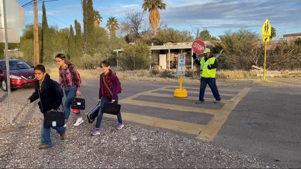 Sunnyside crossing guard Bobby Carbajal