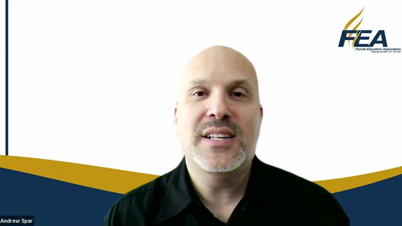 President of the Florida Education Association Andrew Spar
