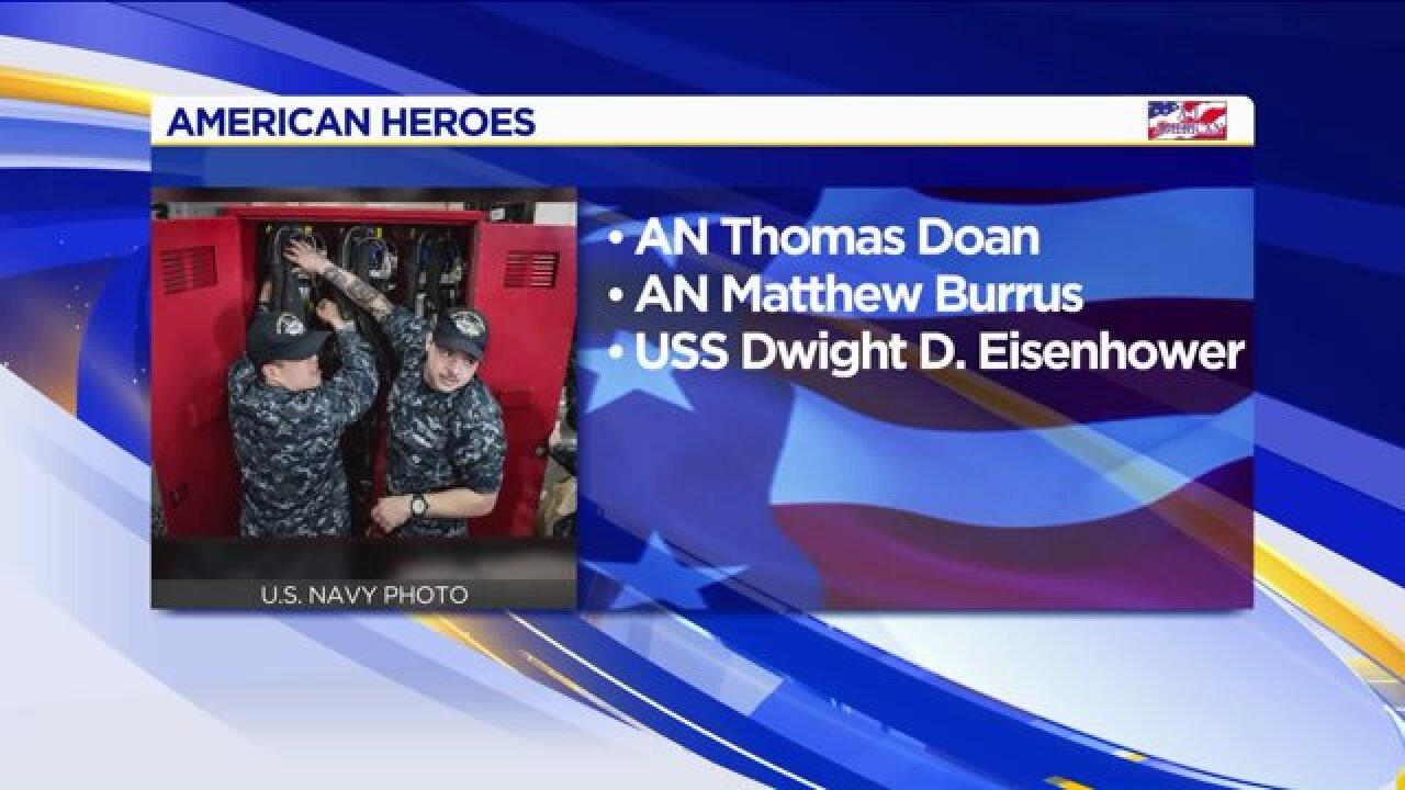 American Heroes: Thomas Doan & MatthewBurrus
