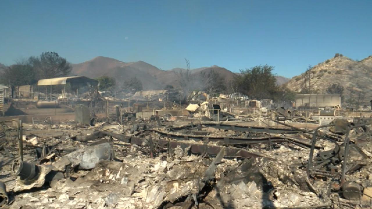 3 firefighters injured; 2 dead in Erskine Fire