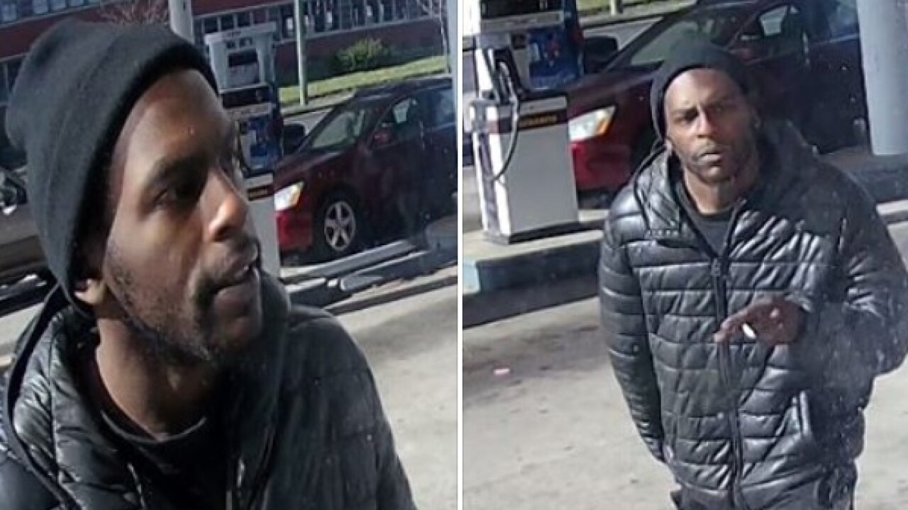 Man wanted for brandishing gun after quarreling with clerk overchange