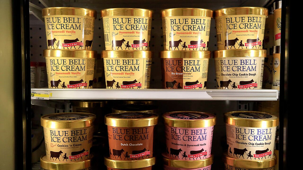 Blue Bell recalls 'Butter Crunch' ice cream; says it may contain 'foreign object'
