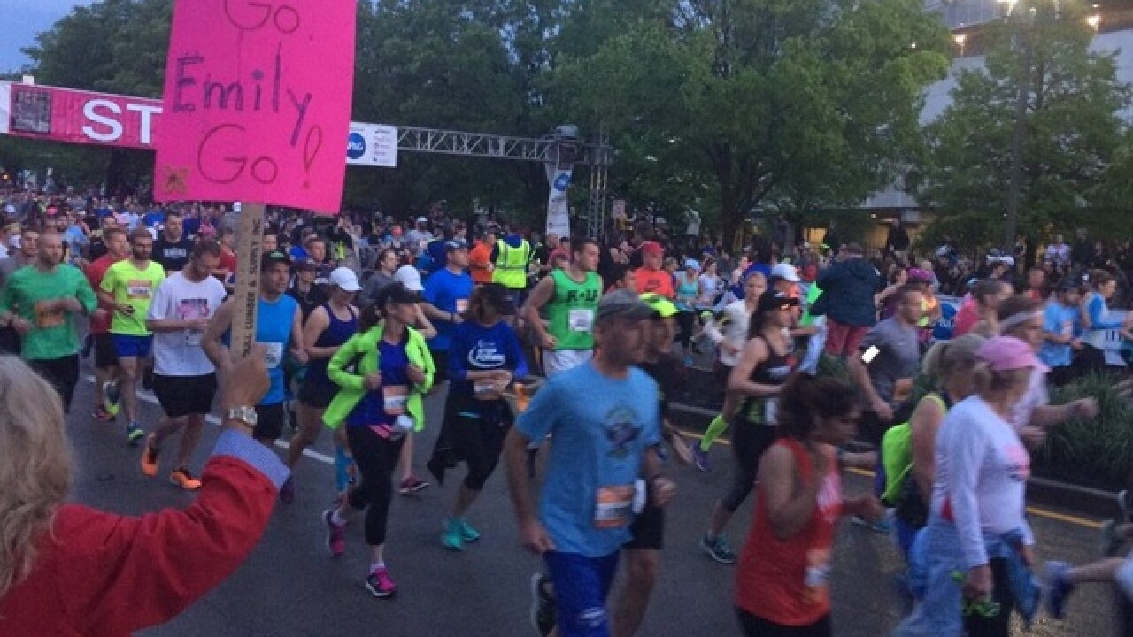 Runners head out for Flying Pig 5K