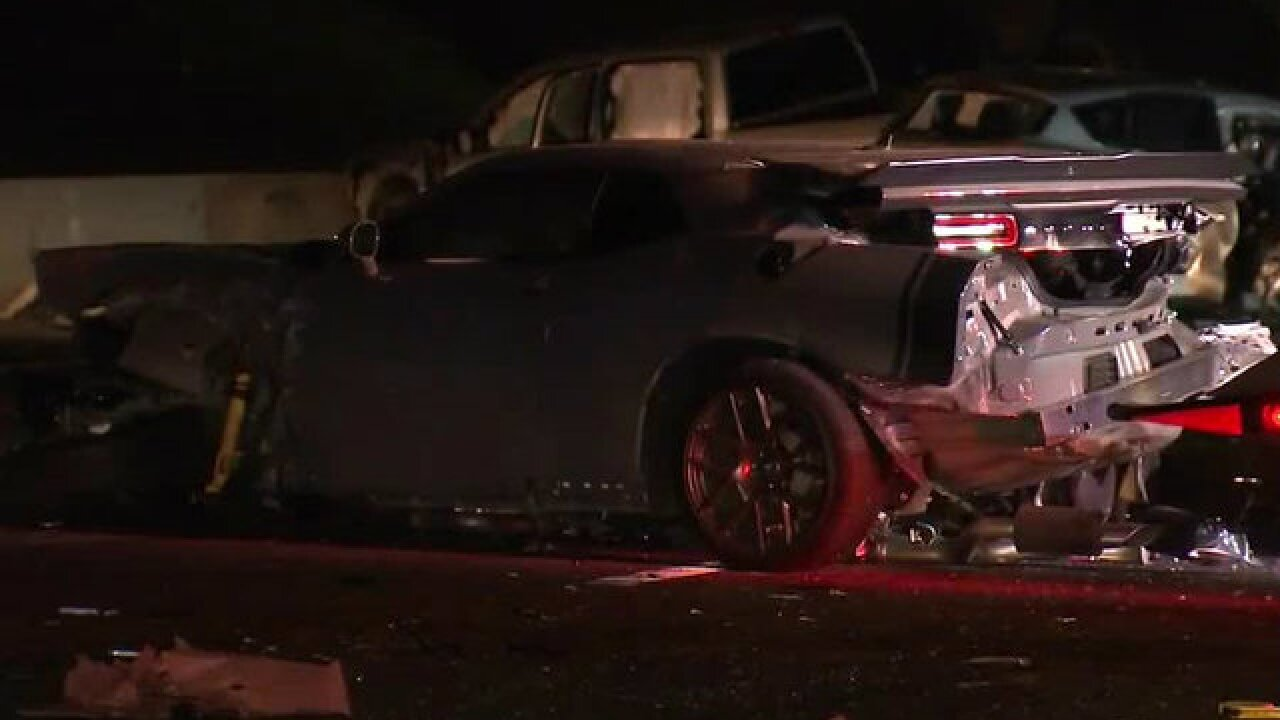 Chula Vista woman killed, multiple injured in vehicle pileup