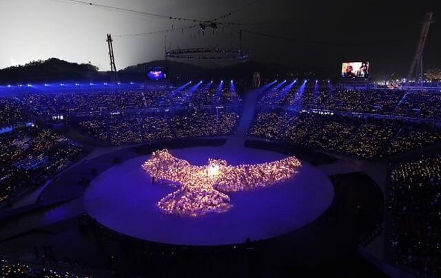 PHOTOS: Winter Olympics opening ceremony kicks off