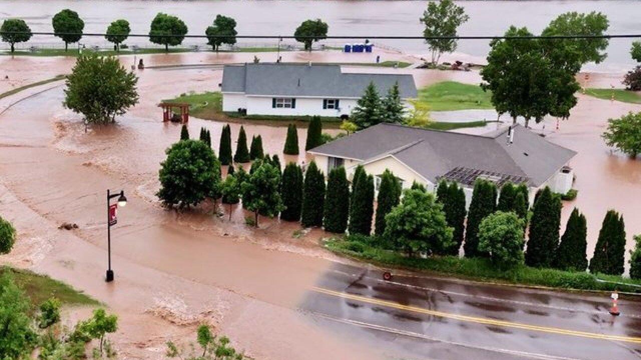 Michigan, Wisconsin floods: One dead