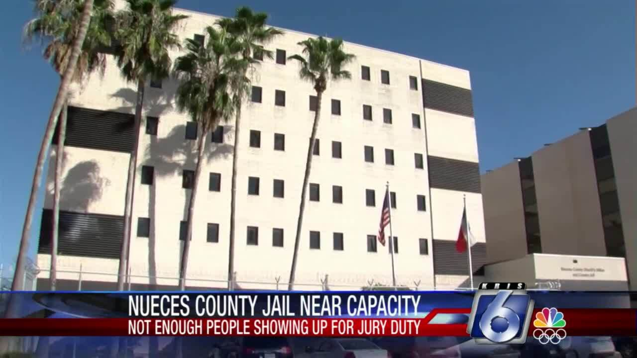 Nueces County Jail facing overcrowding issue