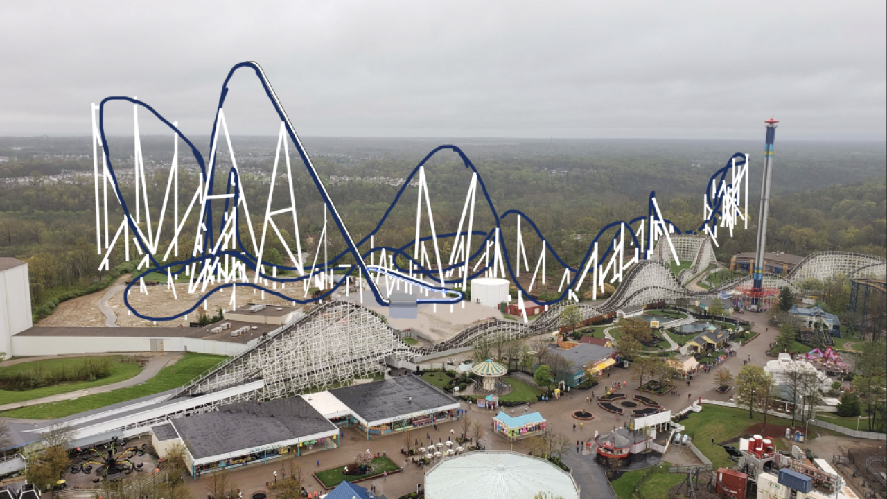 New Kings Island coaster could be Orion or Polaris