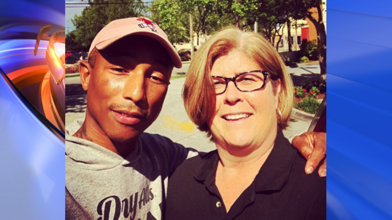 Pharrell visits Norfolk ahead of Something in the Water music festival