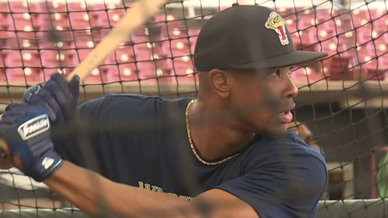 Keon Broxton focused on getting back to Milwaukee