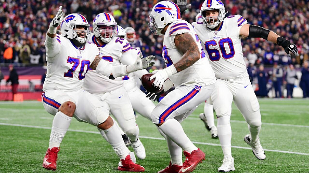 Santa' Josh Allen gifts the entire Buffalo Bills offensive line ...