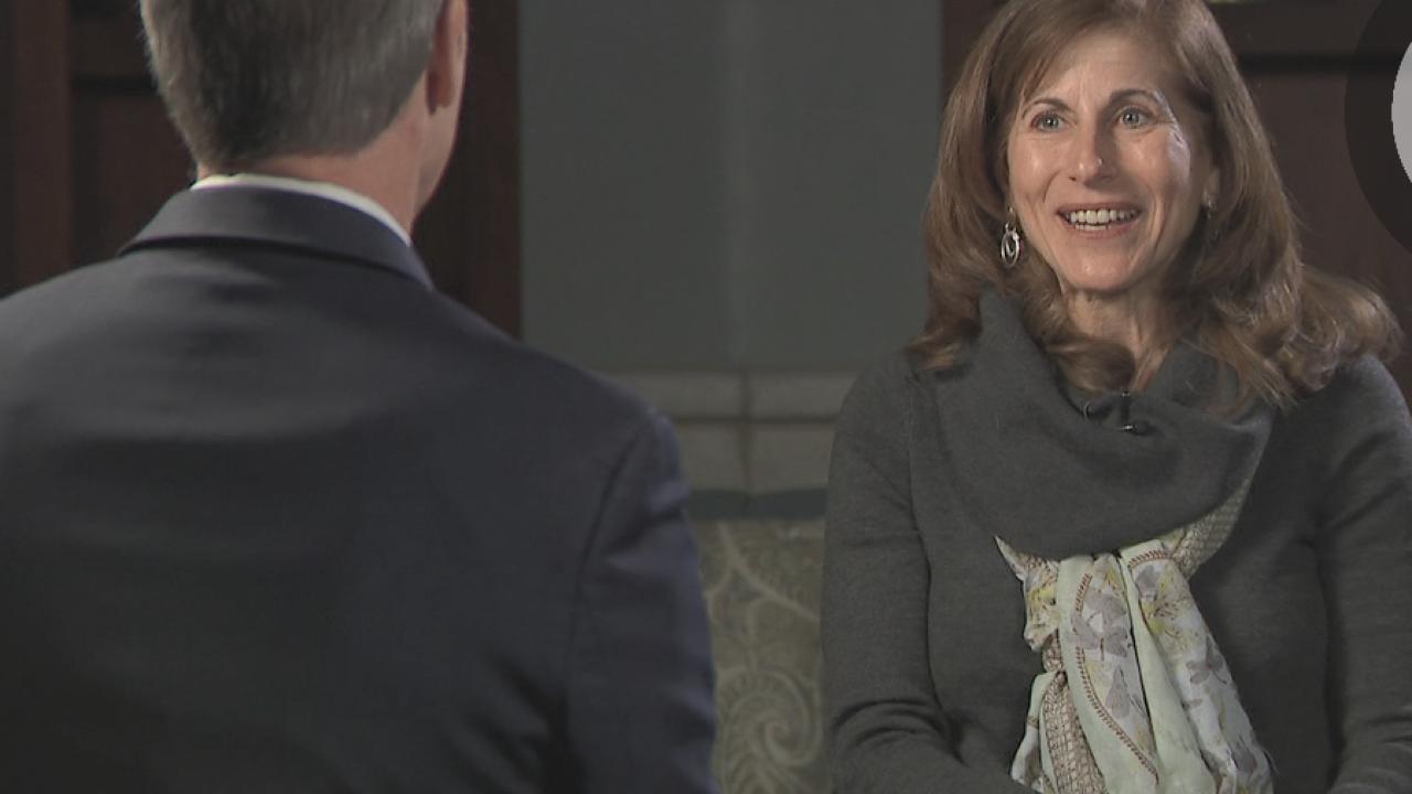 Joyce Cohen talks to Denver 7's Tom Mustin