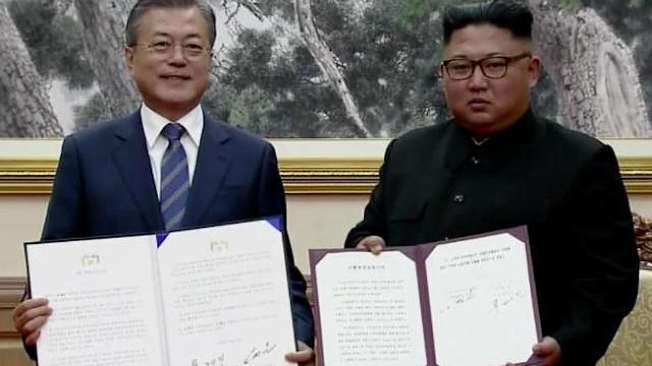 North and South Korea commit to 'era of no war'