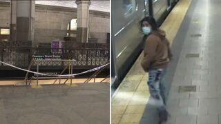 Manhattan subway station stabbing suspect