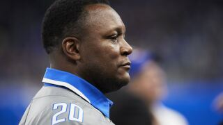 Barry Sanders Bears Lions Football