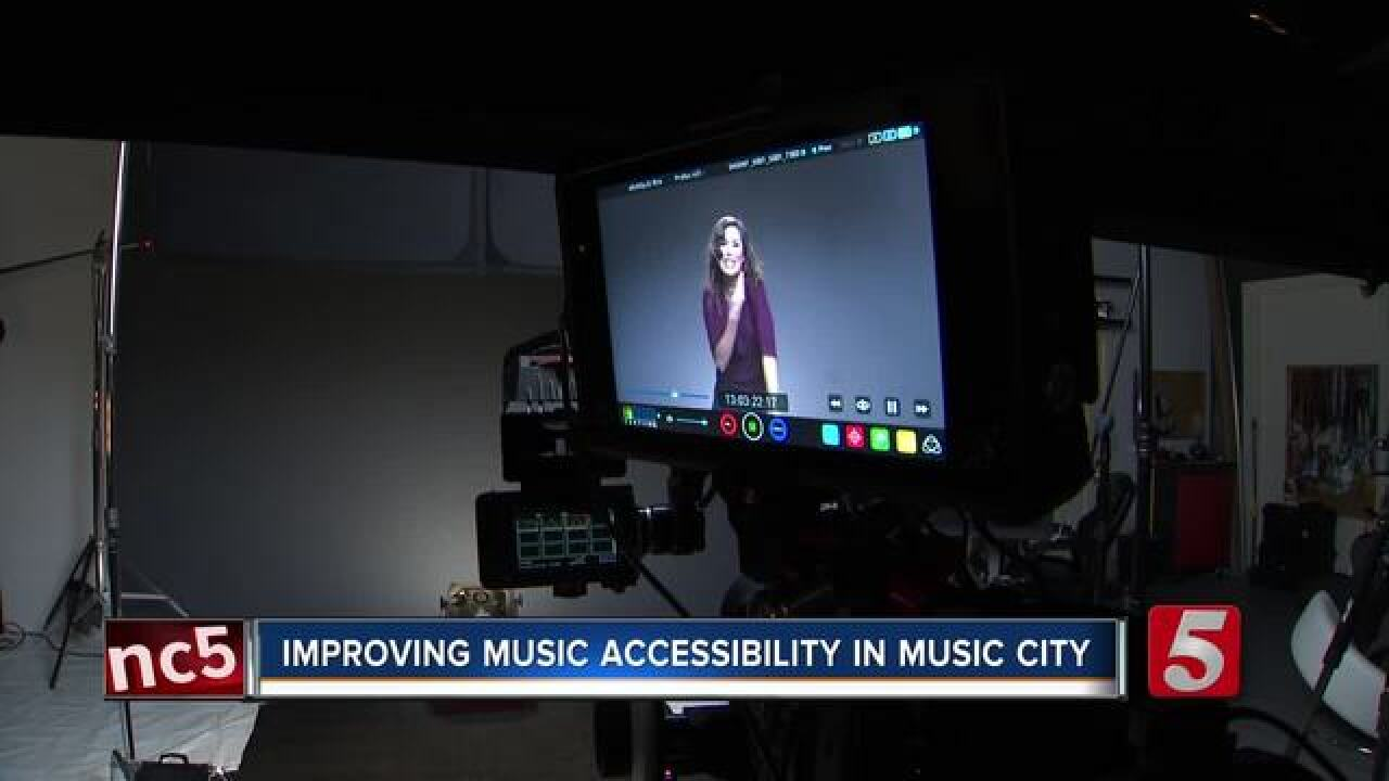 Signers make music accessible for the Deaf community
