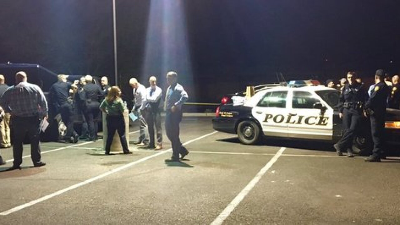 Suspect in custody, officer-involved shooting