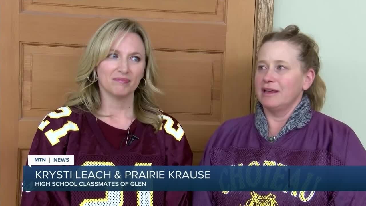 Krysti Leach and Prairie Krause