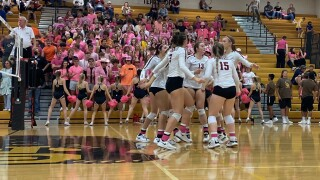 Helena High volleyball sweeps Helena Capital in comeback fashion