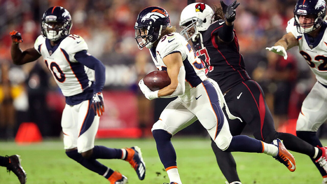 Broncos kick Arizona's butt with first-half flurry in first road win for Denver