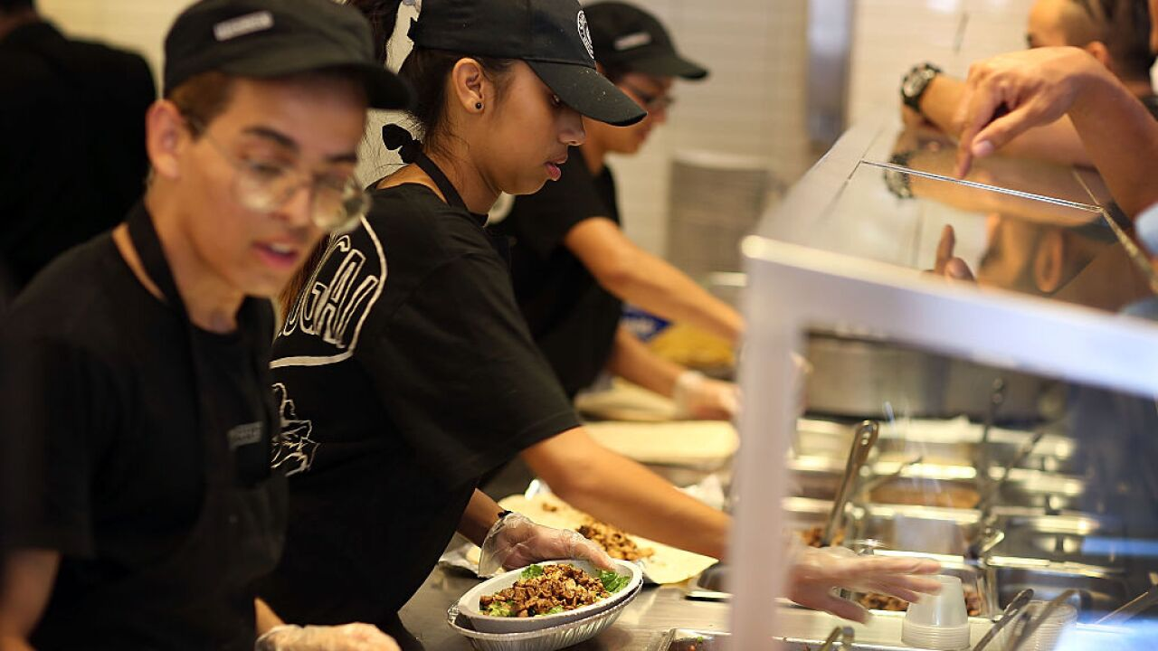 Chipotle wants to give workers an extra month of pay