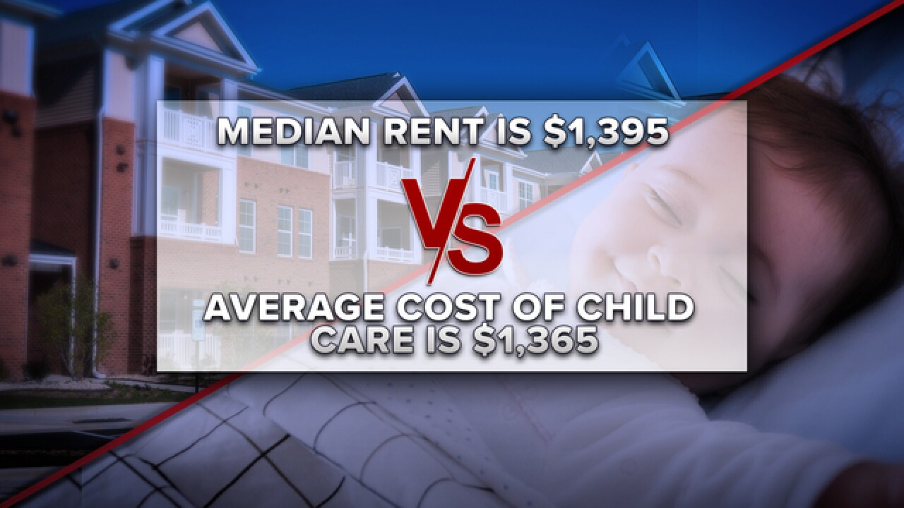 Study: Child care almost the cost of rent in Las Vegas