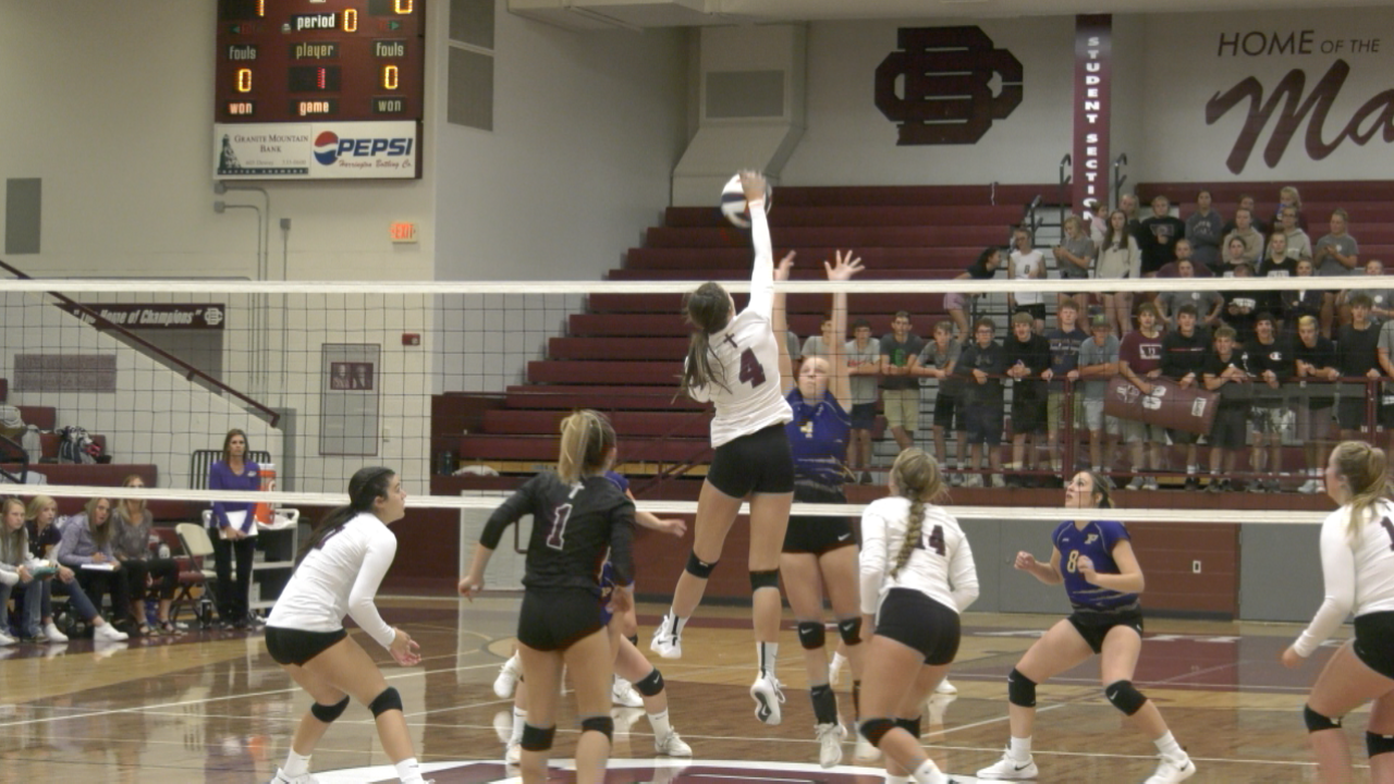 Butte Central volleyball