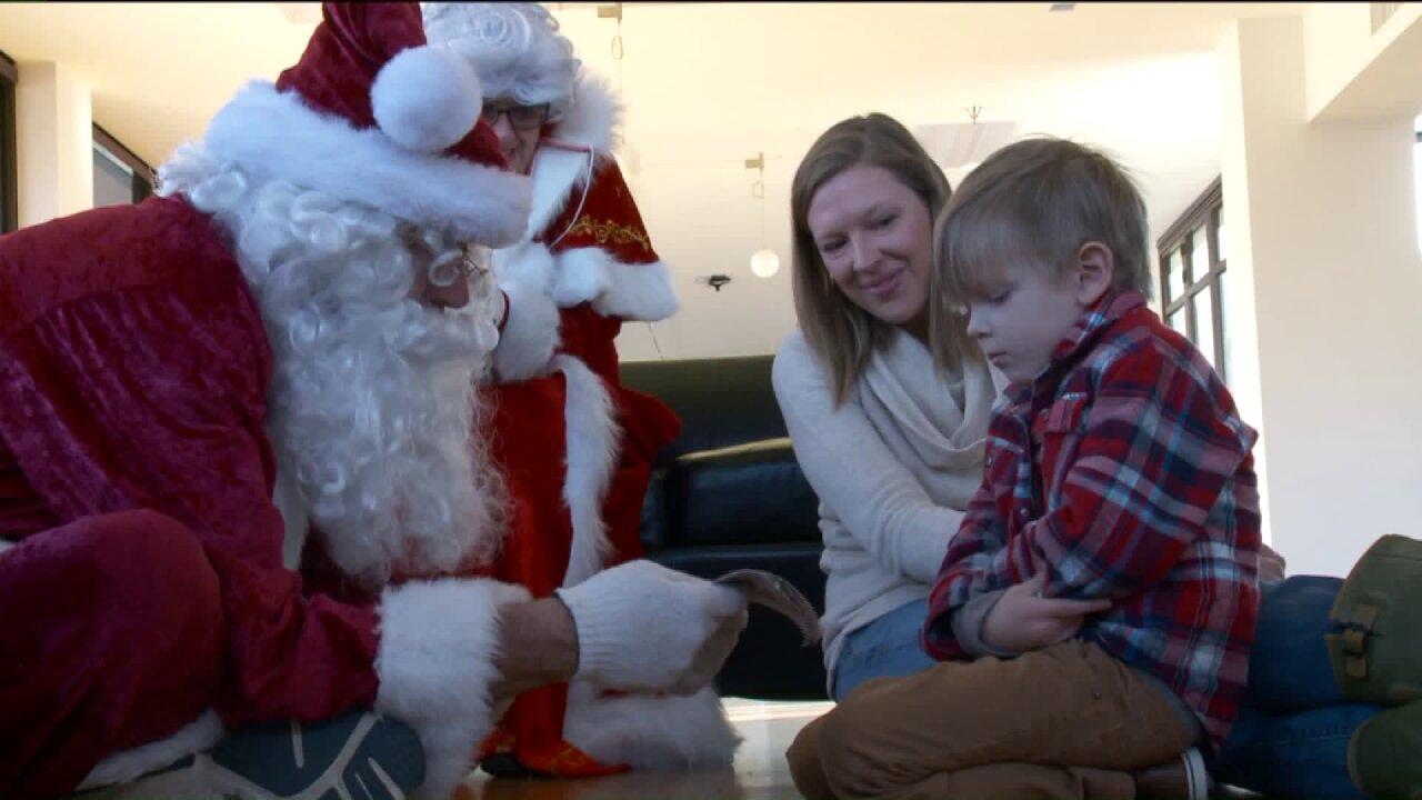 'Quiet Santa' helps children with specialneeds