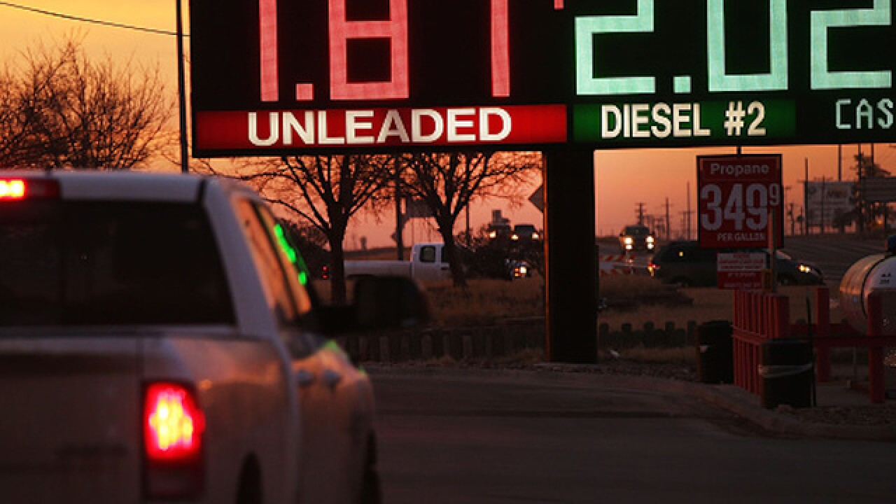 Gas prices have risen over past 2 weeks