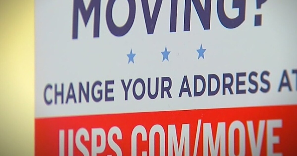 A Post Office change of address form could put you at risk