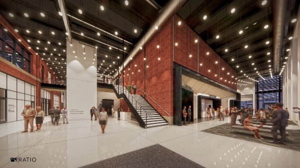 Plainfield Performing and Fine Arts Center Rendering