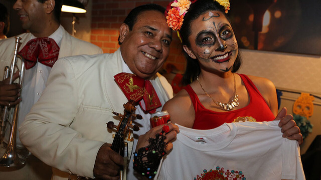 Wrangler Grill opens with Day of the Dead party