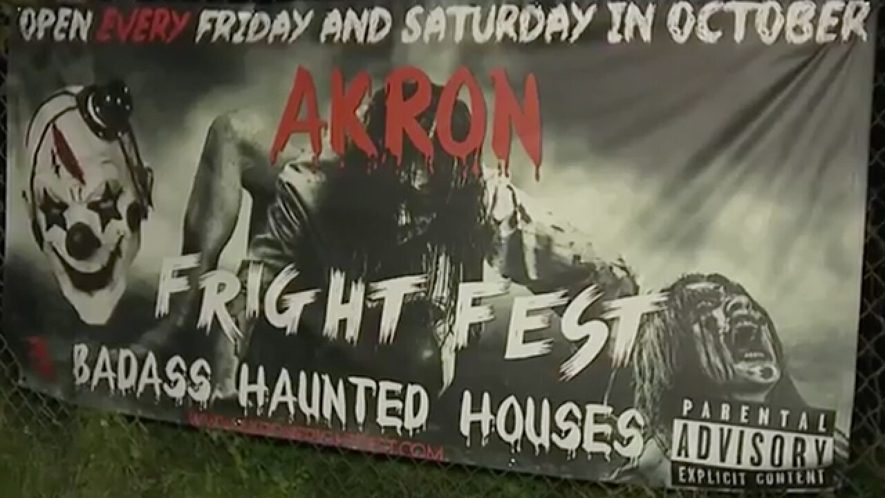 Springfield Twp police won't press charges against Akron Fright Fest after mock rape allegations