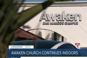 San Diego church continues indoor services despite outbreak and cease and desist orders