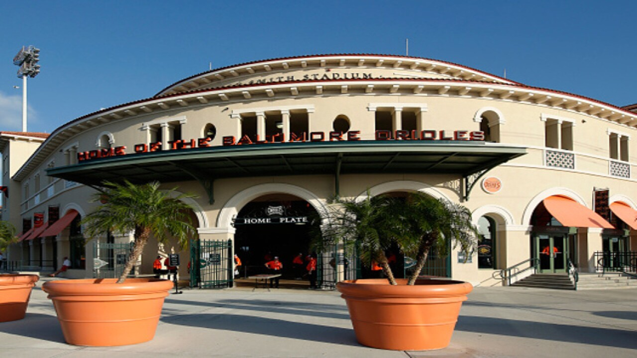 Fay tours Reds' old stomps in Sarasota