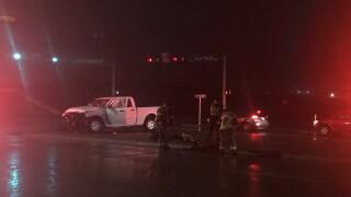Crash near I-35 and New Road
