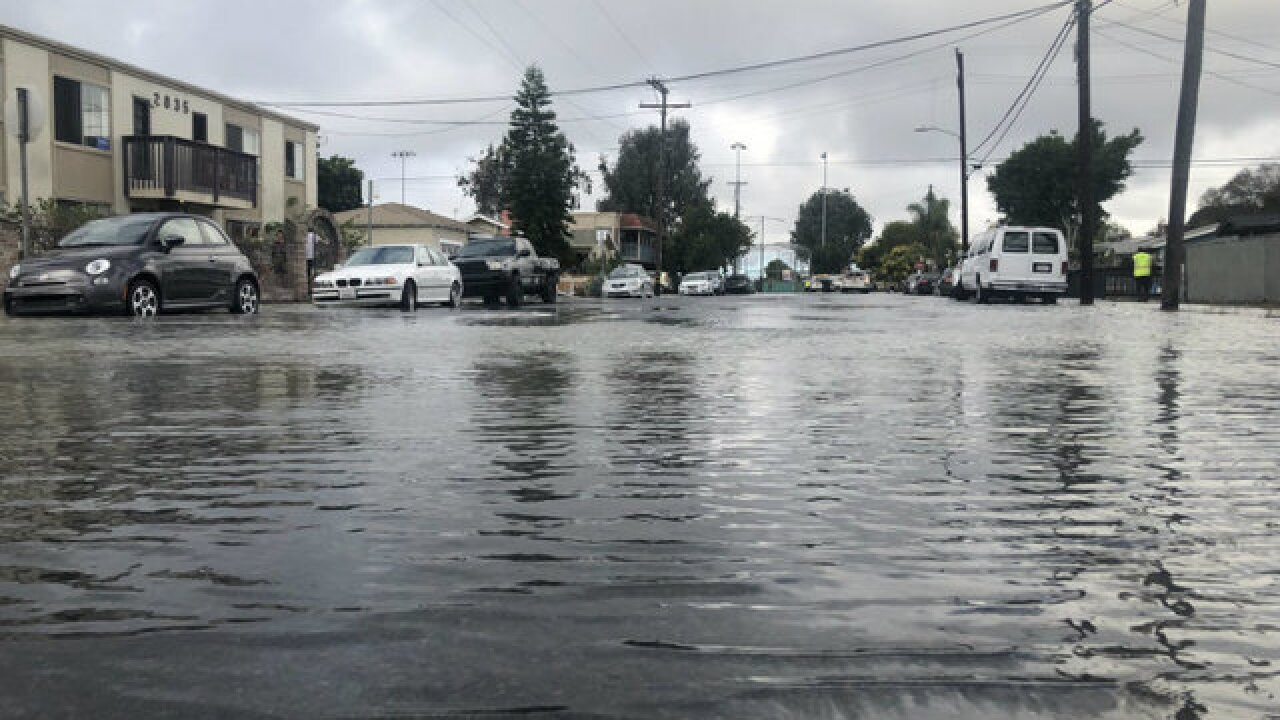 Lawsuits from 2017's North Park water main break