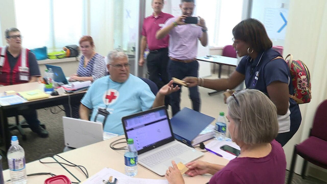 Shelby Brown thanks Red Cross Volunteers: 'You are a light for so many in dark times'