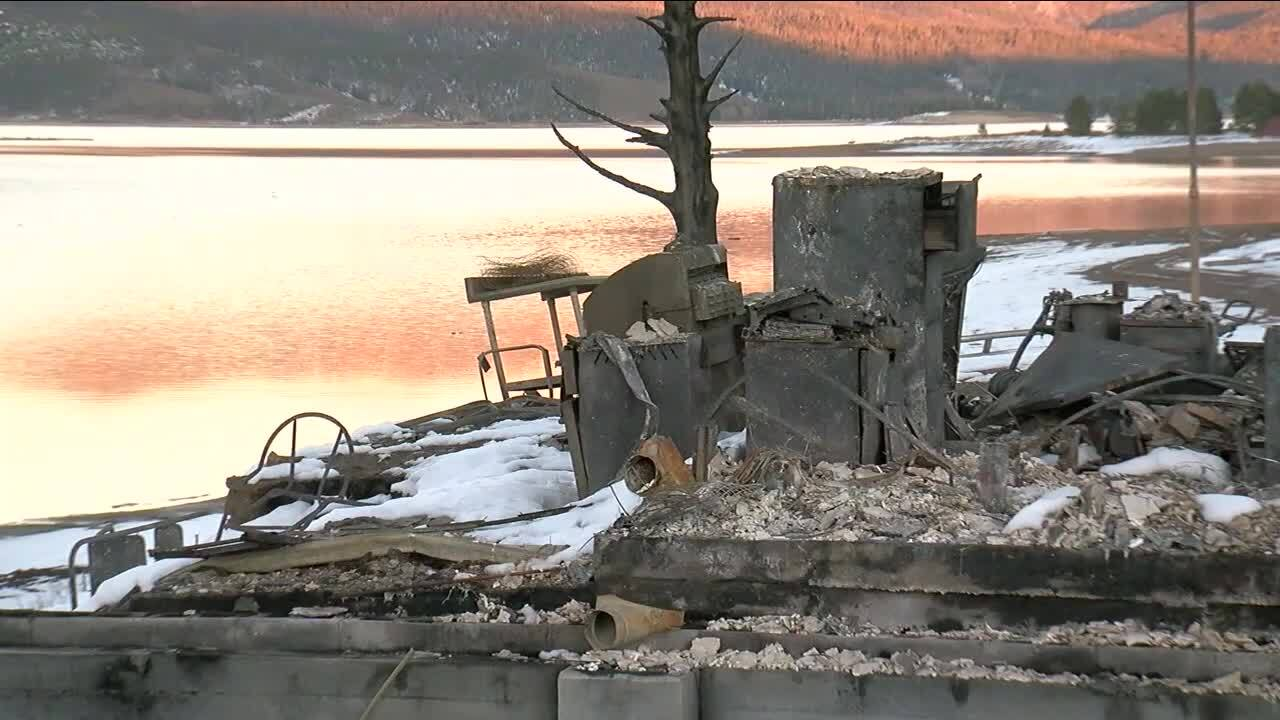 Lake Granby's iconic Highland Marina destroyed by wildfire