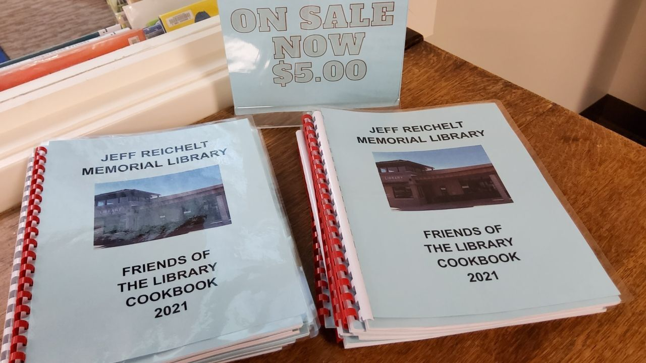 Big Sandy Library is selling community-made cookbooks