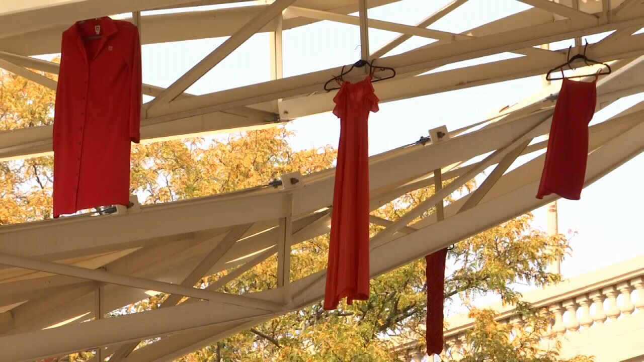 REDress Project remembers missing and murdered indigenous people in downtown Billings