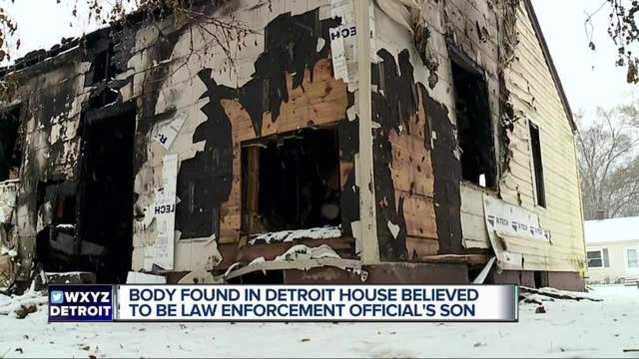 Detroit Fire again leaves body behind after fire