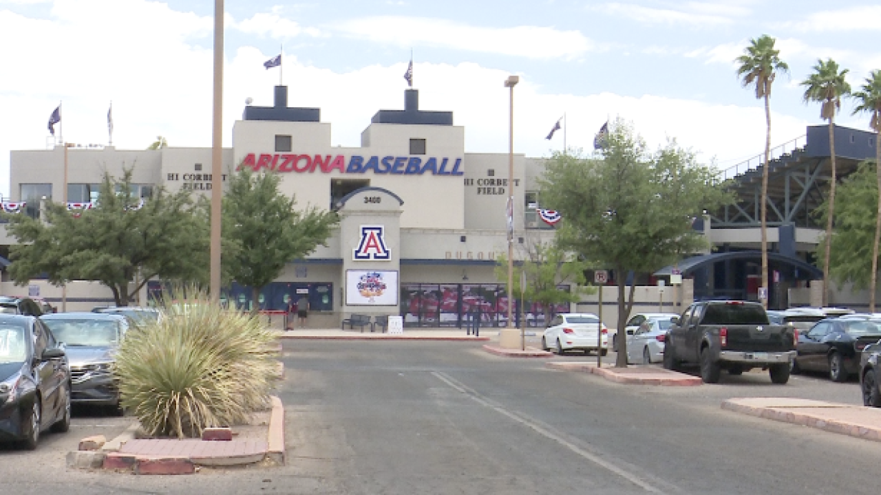 NCAA baseball regional to boost Tucson economy