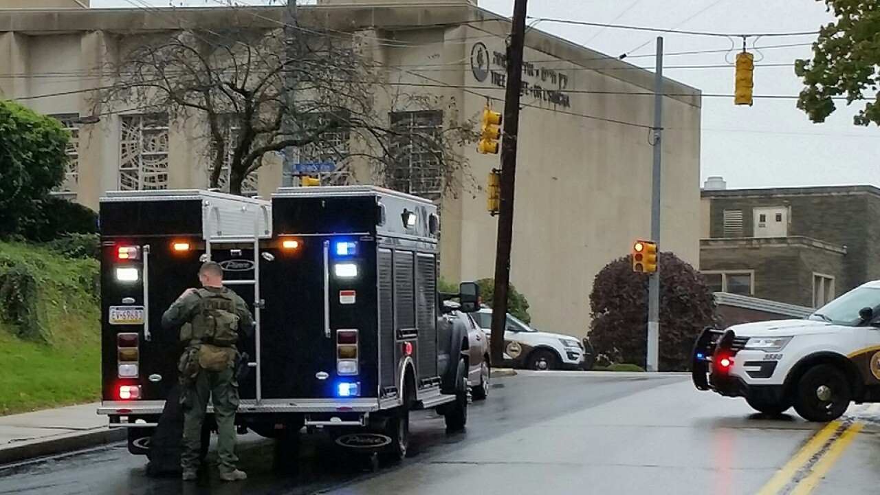 11 killed in mass shooting at Pittsburgh synagogue