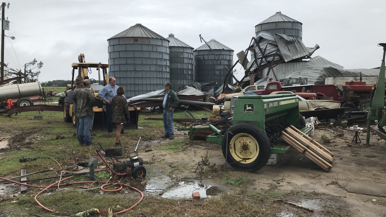 Two barns destroyed in Colquitt following 'potential tornado'.jfif
